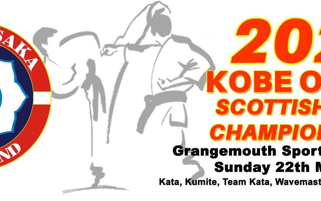 Kobe Osaka Scottish Club Championships  – Sunday 22nd March at Grangemouth Sports Complex